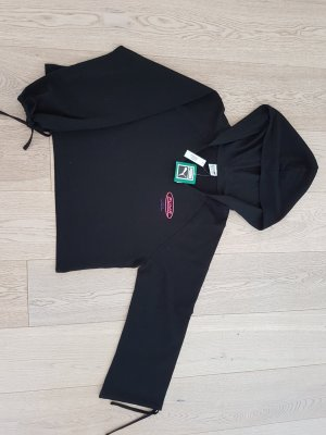 Puma Hooded Sweater black-pink cotton