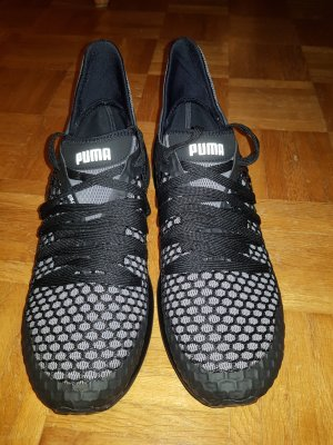 Sneaker stringata nero-grigio