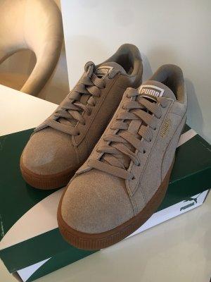 NEU Puma Suede Grau Damen Sneaker