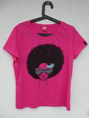 NEU – Puma  – T-Shirt, pink mit Aufdruck
