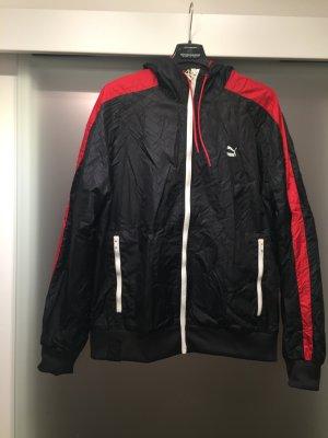 Puma Veste d'extérieur noir-rouge