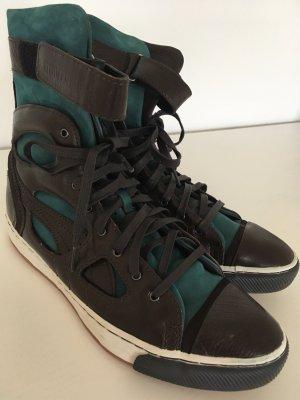 NEU Puma x Alexander McQueen Leder Boots Hi Sneaker 38 Suede Stiefeletten