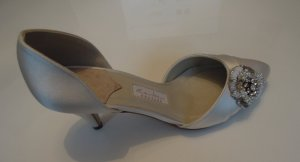NEU Rainbow Couture TOMEA Brautschuhe Braut Schuhe Pumps Satin ivory Gr. 36 3