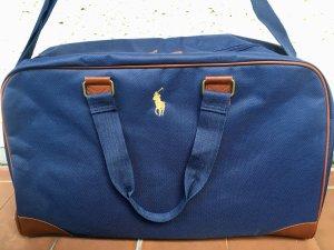 **NEU** RALPH LAUREN Reisetasche, Sporttasche, Schultasche, Weekender, Tasche, Travel Bag, Leder, braun, blau, navy **NEU**