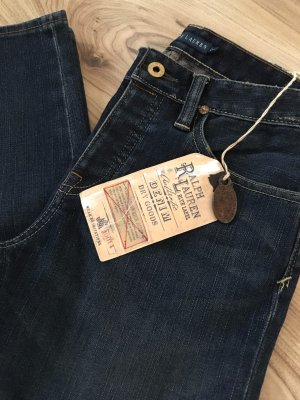 NEU Ralph Lauren Röhrenjeans Skinny Blogger Boyfriend Jeans W26 XS 34 Denim Mom Style Cropped Slim