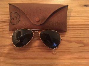 Ray Ban Pilotenbril goud-zwart