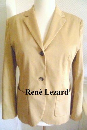 NEU- Renè Lezard - Business Blazer - 10% Elasthan -beige - Gr.42