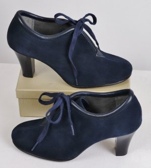 Aerosoles Lace-up Pumps dark blue-blue leather