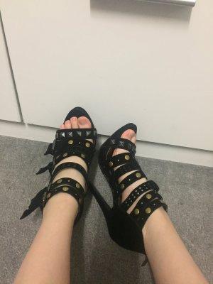 Neu! Riemchen Sandaletten Nieten Größe 36