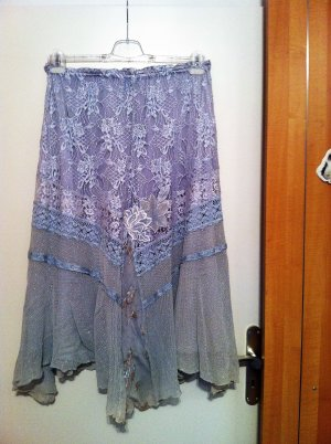 Lace Skirt multicolored viscose