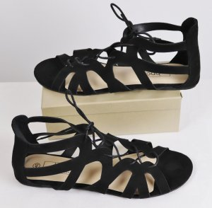 bpc Roman Sandals black imitation leather