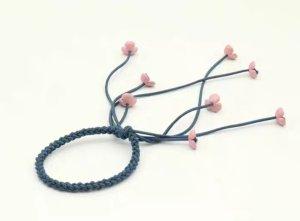 Neu: romantischer Haar- Schmuck, Gummi mit Blüten