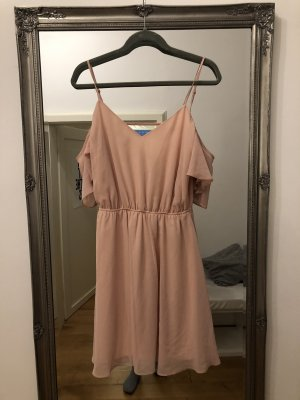 Asos Tall Off-The-Shoulder Dress pink