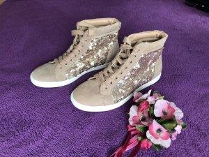 Neu Rosé High Sneaker Sport Schuhe