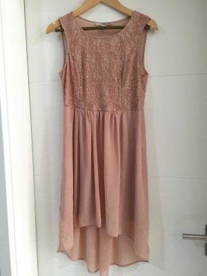 NEU: Roséfarbenes Kleid mit Glitzer