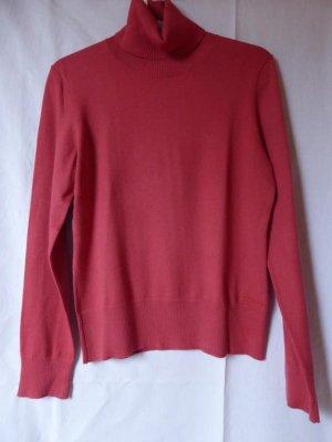 NEU: Rot-pinker Rollkragen-Pullover von QS/S.Oliver