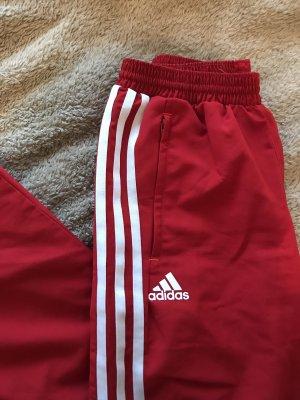 Adidas Pantalon de sport rouge