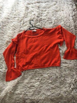Neu rote Pullover von Zara