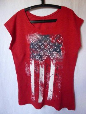NEU: Rotes Amerika-T-Shirt