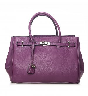 Rouven Carry Bag lilac leather