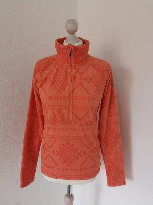 Roxy Pullover in pile arancione-albicocca