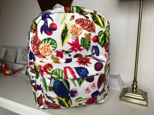 Christian Lacroix Backpack multicolored synthetic fibre