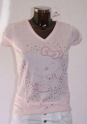 V-Neck Shirt pink mixture fibre