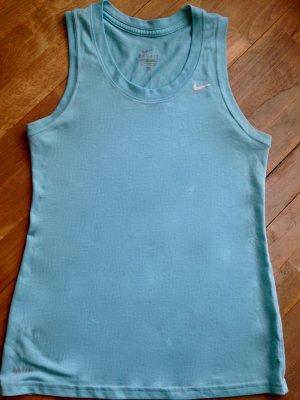 Nike T-shirt de sport bleu azur-bleu clair
