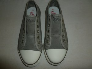 """NEU"" s.Oliver Canvas Sneaker grau, Gr. 38 mit Karton"