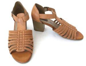 * NEU * s.oliver Leder Sandaletten Sandalen Schuhe 39 Sommer boho
