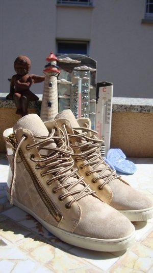 Andrea Sabatini Sneaker alta multicolore Pelle
