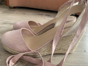 Just Fab Lace-up Pumps pink