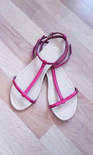 Neu! Sandalen h&m metallic pink Gr. 40