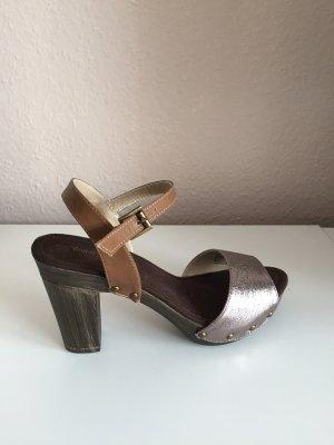 Young Spirit Platform High-Heeled Sandal bronze-colored-brown