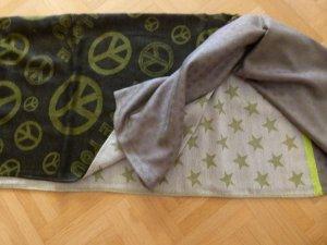 Neu! Schal mit Peace Zeichen XL