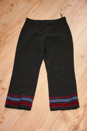 NEU Schicke 7/8 Hose / Sommerhose / Damen / Schwarz / Gr. 38 UK 10