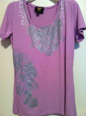 """NEU! Schickes shirt von """"Sarah Kern"""" mit Strasssteinchen bestickt"""