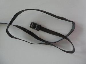 NEU - schmaler Gürtel, dunkelbraun, Gesamtlänge: ca. 124cm