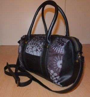 Neu** Schöne Desigual Damen Handtasche BOLS Malta Printed Fur- schwarz
