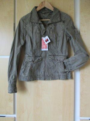 ** Neu ** schöne Jacke, khaki, mit vielen Details