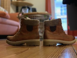 Rieker Chelsea Boots brown leather