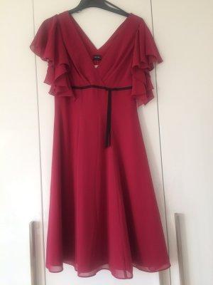 NEU Schönes Himbeer-rotes Kleid Gr. 36
