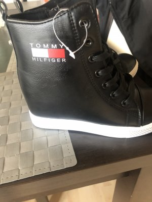 Tommy Hilfiger Snow Boots black leather