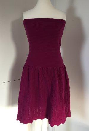 NEU - Schulterfreies Minikleid in Violett von Sandro Paris (NP 145,00 €)