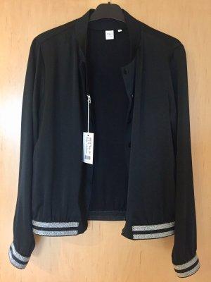 Eterna Chaqueta tipo blusa negro