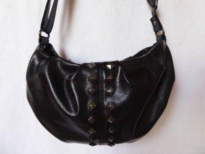 NEU: Schwarze Handtasche mit Nieten von Graceland