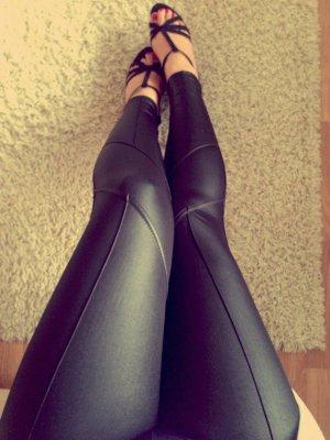 #Neu #Schwarze Leggings #etikett #neu