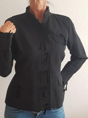 Unisex blazer zwart Viscose