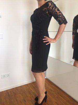 JJs House Chiffon jurk zwart