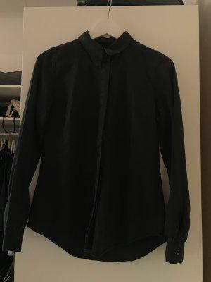 Asos Camicia denim nero-antracite